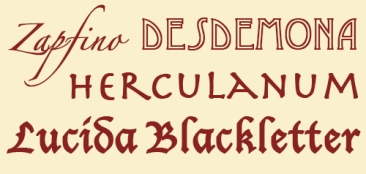 Decorative-fonts