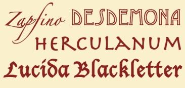 Decorative-fonts