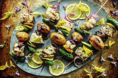Grilled-Swordfish-Skewers-from-heatherChristo.com_
